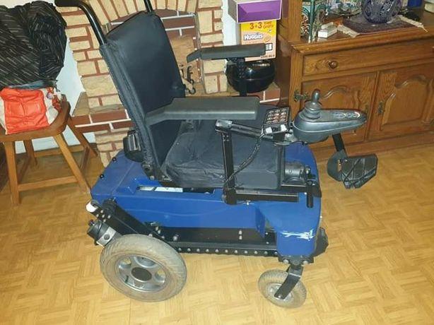 Wózek inwalidzki elektryczny schodołaz TopChair firmy Vassilli