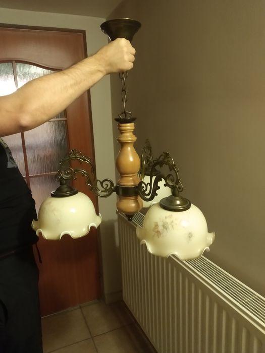 Żyrandol, trójramienna lampa wisząca Żory - image 1