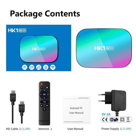 Box Hk1 alterada com Android tv