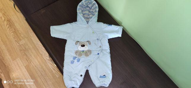 Kombinezon zimowy, kurtka, dla chłopca,chłopięcy, Earlydays, r. 62