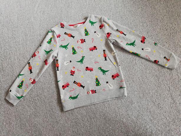 Bluzka świąteczna H&M rozm 134