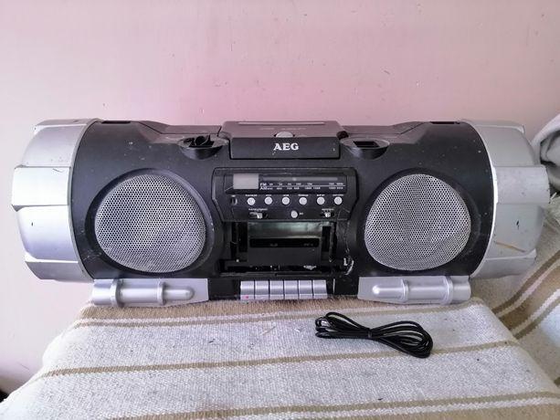 Boombox AEG SRR 4317- radioodtwarzacz CD/mp3,Aux