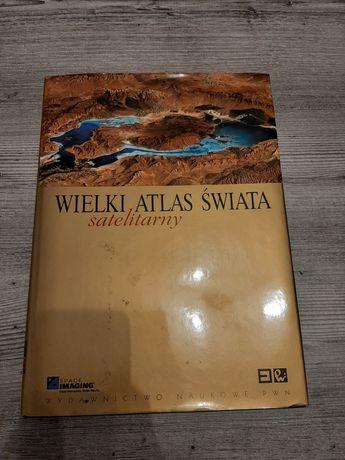 Wielki atlas świata satelitarny