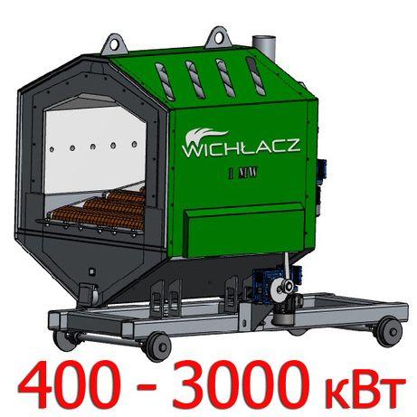 Пеллетные горелки Wichlacz 400-3000 кВт с подвижными колосниками
