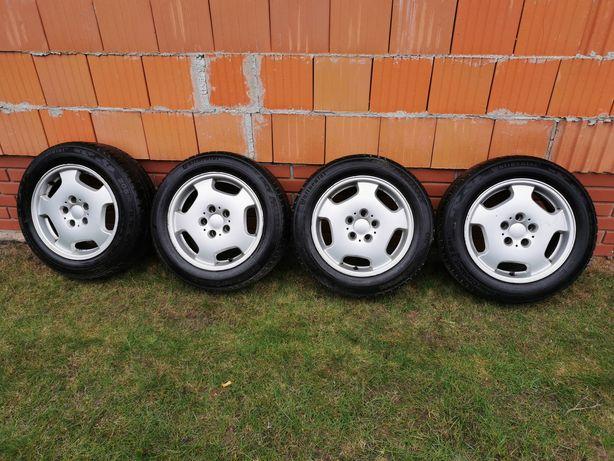 5x112 Mercedes felgi aluminiowe 16'' z oponami zimowymi
