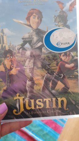 DVD Justin e a espada da coragem