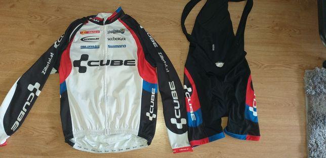 Conjunto roupa btt/ciclismo cube