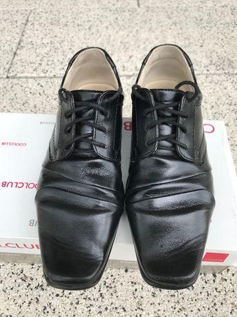 Buty wizytowe, skórzane, wyjściowe, komunia (wkładka 22,5cm) Cool Club