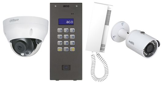 Monitoring, domofon, wideodomofon, instalacje - Dzierżoniów, Bielawa