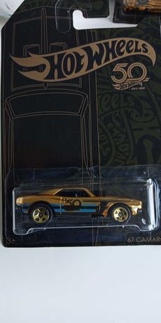 Hot Wheels 67 Camaro gold