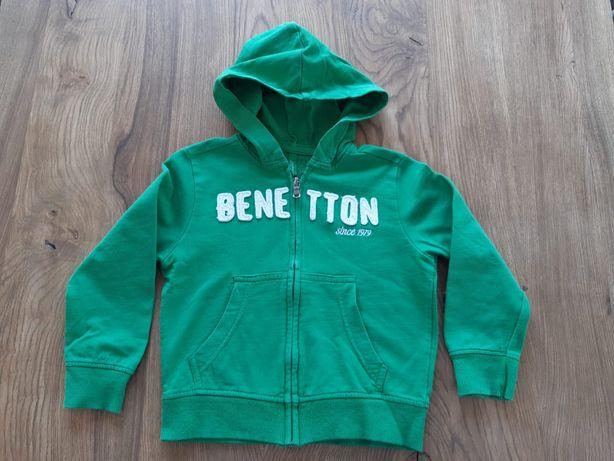 3 bluzy z kapturem chłopięce Benetton, Reserved, H&M rozmiar 104 bluza