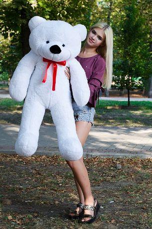 Большой плюшевый и самый мягкий мишка медведь Раф 50см - 240 см