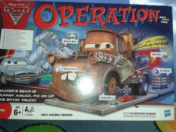 Hasbro gra operacja cars 2 ZŁOMEK wersja angielska