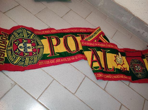 Cachecol seleção nacional  Portugal Euro 2004