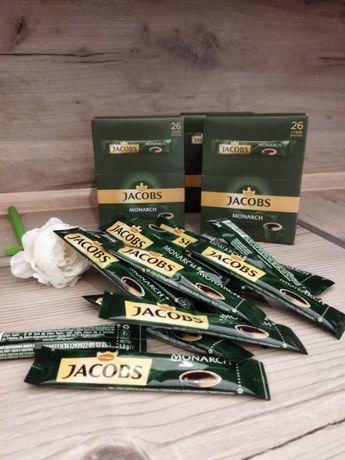 Розчинна кава Якобс Монарх (Jacobs Monarch) в стіках