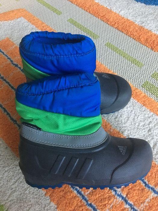 Сноубутсы Adidas (стелька 16,5-17 см) Луцк - изображение 1