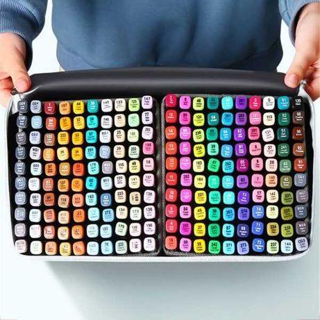 Набор скетч маркеров двухсторонних для рисования Touch фломастеров тач