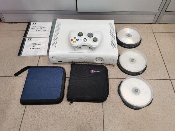 Xbox 360 z padem + 45 gier /fajny zestaw na długie wieczory /polecam