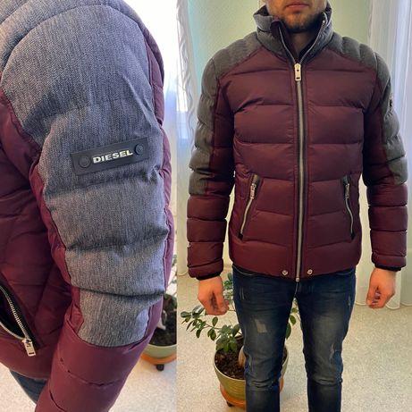 Зимняя куртка Diesel bikkembergs calvin klein armani