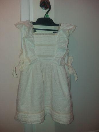 Sukienka styl boho koronka Zara 104