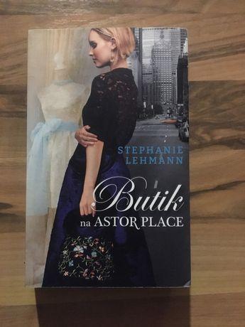 "Ksiazka ""Butik na Astor place"" Stephanie Lehmann"