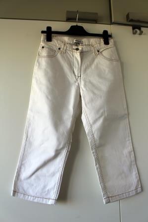 Spodnie białe lato Monnari 3/4 rybaczki 36 S, nigdy nieubrane jak nowe