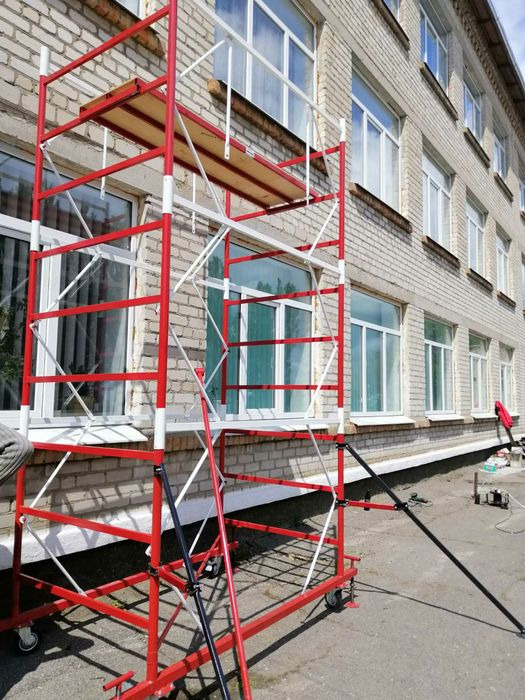 Вышка тура передвижная, леса строительные рамные и КХЛ, подмости Одесса - изображение 1