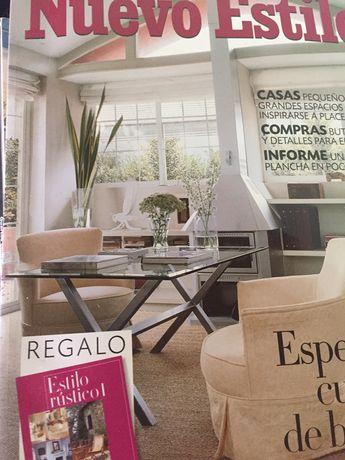 Revistas de decoração e moda -2000 e seguintes