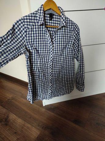 Koszula ciazowa H&M mama 36 S w  kratke