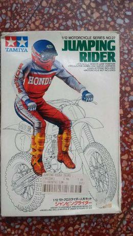 Boneco novo Jumping Rider Tamiya Honda raro