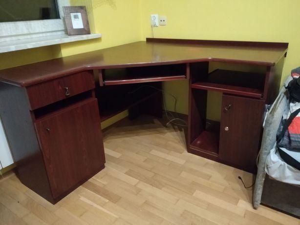 Biurko narożne pod komputer