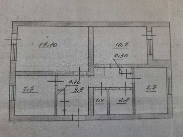 3к квартира на 3 этаже в кирпичном доме №82 Светлодарск + капит. гараж