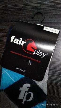 Skarpetki jeździeckie Fair Play