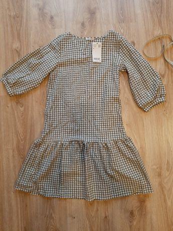 Sukienka w kratkę Orsay nowa
