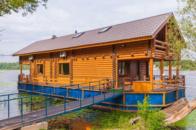 Аренда дома Киев, аренда дома посуточно, дом на воде, Гидропарк
