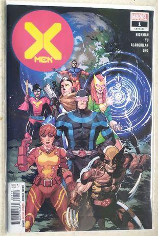X-Men #1, X-Force #1, Fallen Angels #1 (2019) [Marvel Comics]