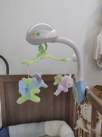 Mobile berço bebé Fisher price