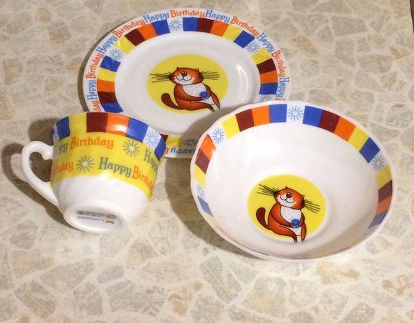 Набор посуды детский ( на подарок)