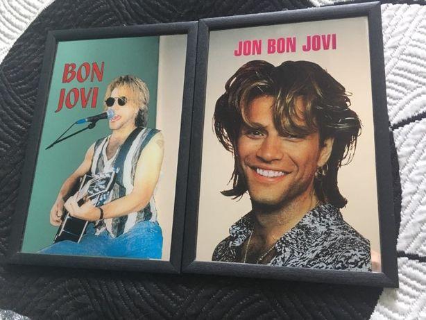 Quadros Espelhados Bon Jovi