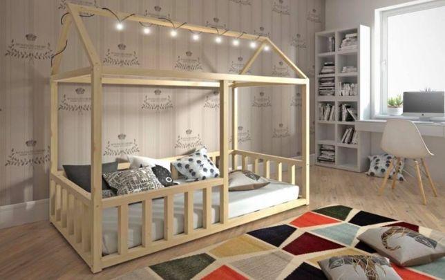 Nowe łóżko NIKO, domek! Materac gratis! Kolory do wyboru!