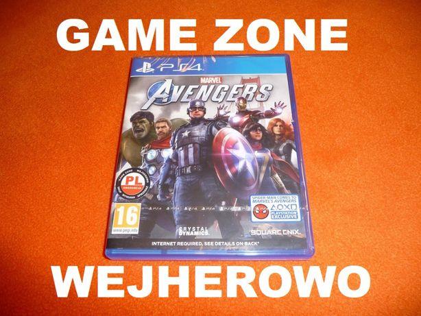 Marvel Avengers PS4 + Slim + Pro = PŁYTA PL Wejherowo / SKLEP