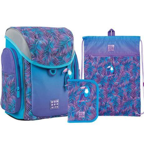 Школьный набор рюкзак + пенал + сумка Wonder Kite Tropic WK21-583S-1