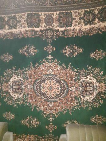 Кавер винтажный зеленого цвета