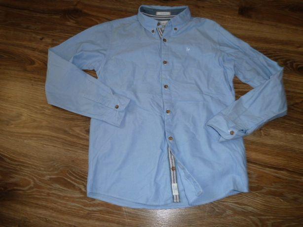 Debenhams Коттоновая рубашка на 14 лет рост 164 см , отличное состояни