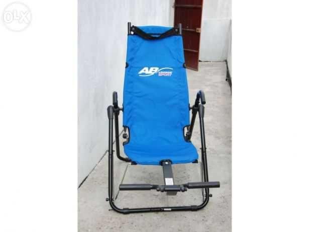 Cadeira de treino abdominal ab lounge sport USA