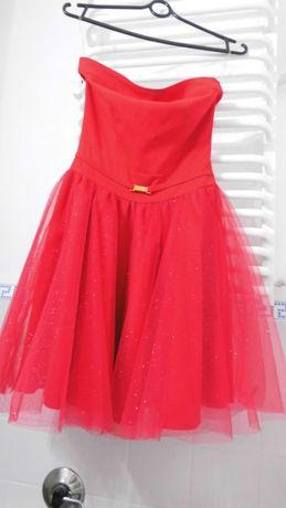 Nowa czerwona sukienka M