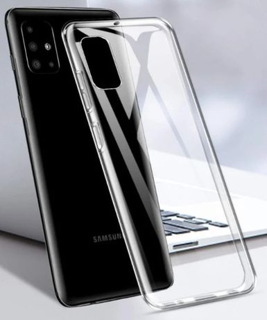 Прозрачный чехол на для Samsung A01 A51 A71 2020 M30s M21
