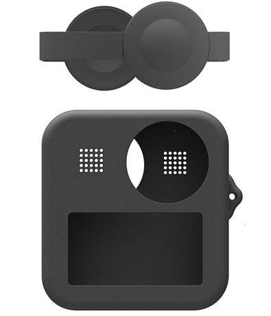Akcesoria do GoPro - Obudowa silikonowa osłona obiektywów do GoPro MAX