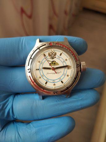 Часы Восток Амфибия Командирские Водонепроницаемые Сделаны в СССР