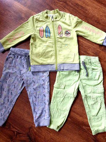 Zestaw Cocodrillo 86 bluza plus 2x spodnie